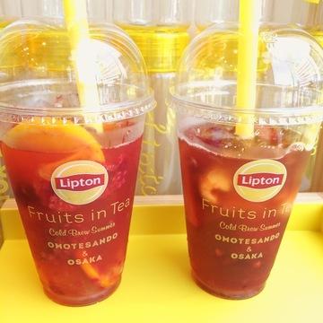 リプトン「Fruits in Tea」専門店に行ってきました❤︎