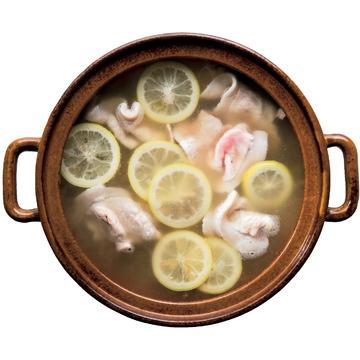 4.[広島県]レタスのしゃぶしゃぶ ×塩レモンスープ鍋
