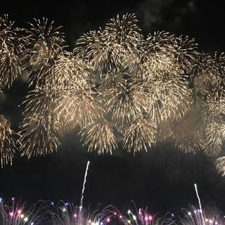 夜空に映える大迫力の【長岡花火】今年も最高でした!