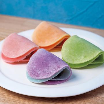 カラフルな色合いで目にも楽しい!御室和菓子 いと達「包み餅」【京菓子でお茶時間】