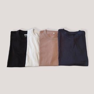 クルーネック一択!晩夏を乗り切るTシャツ4枚