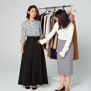Sサイズさんのためのミディ&ロングスカート攻略法