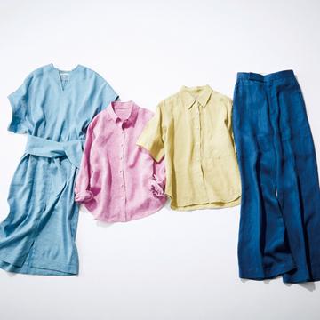 カッコよく着る! クールみ「黒」&フレッシュ「きれい色」リネン8【色で指南する「大人のリネン」】