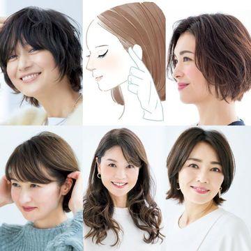 アラフィー女性の憧れ・富岡佳子さんの「絶品ショート」大公開!【50代髪型人気ランキングTOP10】