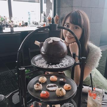 ブラックアフタヌーンティー♡アマン東京のハロウィン