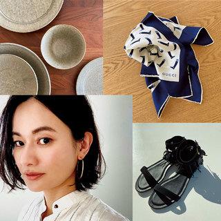 「この先もずっと好きだな、と思えるものに囲まれていたい」渡辺佳子【モデルのMY定番】