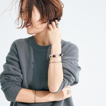 <シルバーアクセサリー編>装いを洗練するこの冬の小物テクニック【大草直子さんの最新ファッション戦略】