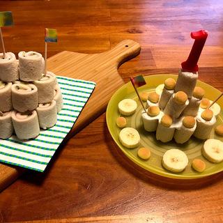 パーティーにもおすすめ☆ロールサンドイッチのケーキ