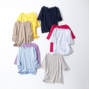 "DoCLASSE(ドゥクラッセ)の""今日買って明日から活躍する服""Vol.2 機能性も上々!「大人のきれい見えT」"