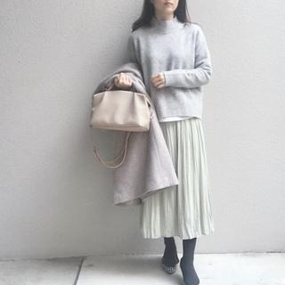 清潔感があって、しかも映える #ミントグリーン のスカート