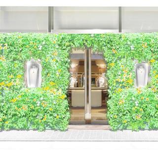 ヴァン クリーフ&アーペル銀座本店 春の訪れを彩るスペシャルなディスプレイが1日限定で登場