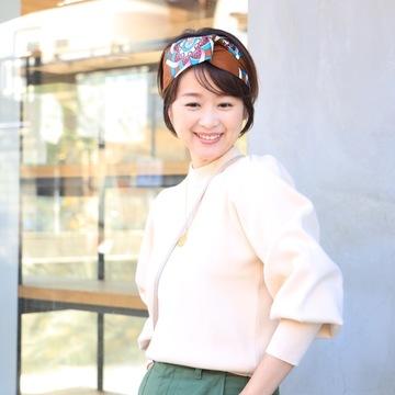 ZARAのふんわりバニラミルク色ニット♡