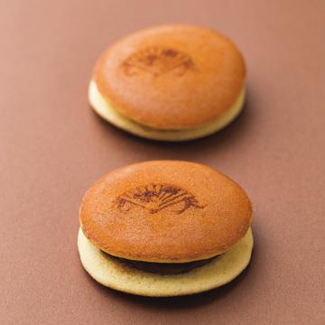 上質素材のかわいいどら焼き 『京菓子司 末富』の京の華扇