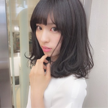 黒髪女子必見♡ 透明感抜群カラー