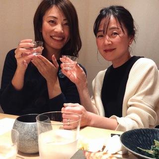 オトナ女子の新年会は銀座でお寿司!