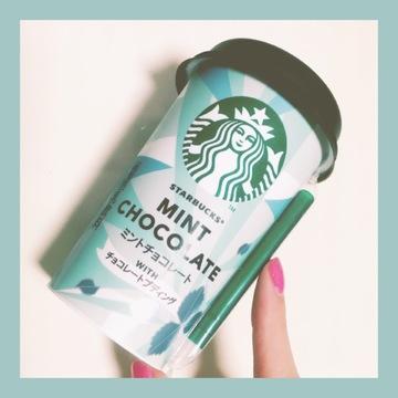 ❤︎スターバックス ミントチョコレート WITH チョコレートプディング❤︎