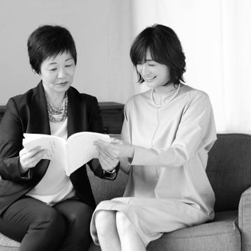「弁護士であり、社会活動をし、母でもあり。本当にすごい!」(富岡さん)