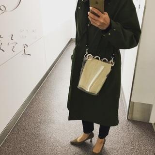 ディテールが好み♡なZARAの巾着型PVCバッグ_1_3