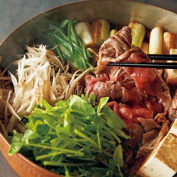 牛肉の奥深い味わいを満喫「赤ワイン味噌すき焼き」【小堀紀代美さんの体にいい鍋】
