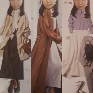 今年のファッションイメージを考えるコラージュ作成_1_3