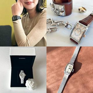 美女組さんの「私に自信をくれる腕時計」【美女組通信 Vol.12】