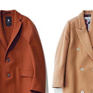 旬カラーの「ブラウン」のコートが1枚あれば、 おしゃれは一気に最旬に
