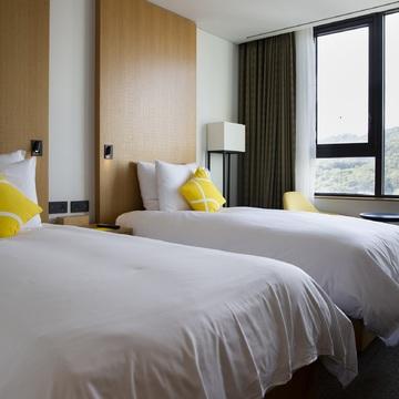 ソウル取材班が泊まったホテルは「L7明洞」