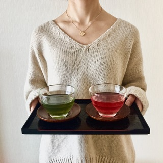 バレンタインにも♡赤い日本茶