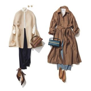 とっておきの1枚を上品に着こなす!コートのファッションコーデ実例20選