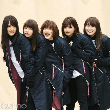 本田翼が欅坂46に加入!? 最新曲の衣装でセンターに♡ 対談も必見!