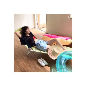 毎日コーデ★本田翼の妄想プールコーデが可愛すぎ♡
