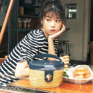 【ケイトスペードのバッグ】カゴバッグは差がつく名品♡ カフェでもSNS映え!