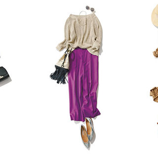 アラフォーの着こなしをきりっとクールに。上品で今っぽいパンツコーデは? | 2019 | 40代レディースファッション