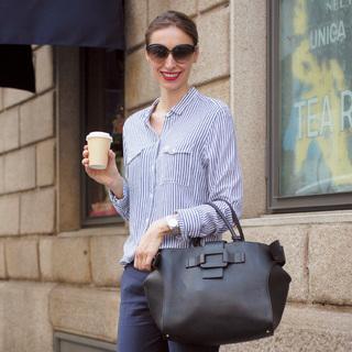 シャツ×パンツの清潔感は世界共通【ファッションSNAP ミラノ・パリ編】