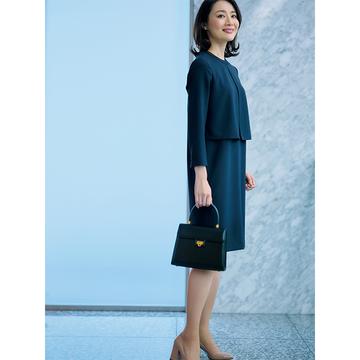 TPPOに合ったきちんと感も着映えも簡単に。母らしく装う日の「ネイビー服」 3選