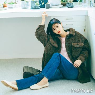 西野七瀬の推し服はボアブルゾン♡ モコモコが可愛すぎ!