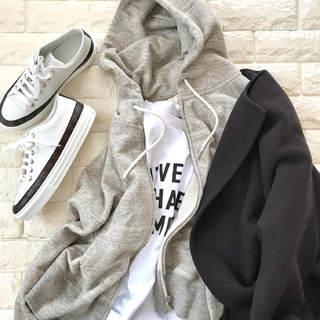 プラス1枚であったかい!寒い日のパーカーコーデ【高見えプチプラファッション #150】