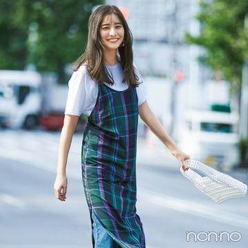 白Tシャツをトレンド顔にコーデ★ 新鮮アイディア4選!