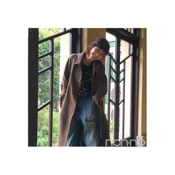 本田翼が着る話題のUNIQLO and JW ANDERSONのコート【毎日コーデ】