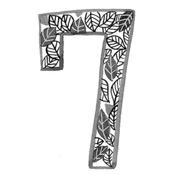 イヤーナンバー「7」