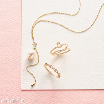 成人のお祝いにも! 華奢で人気♡ アガットのリング&ネックレス