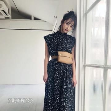 鈴木友菜は大人っぽBAEワンピでトレンド先取り♡ 【毎日コーデ】