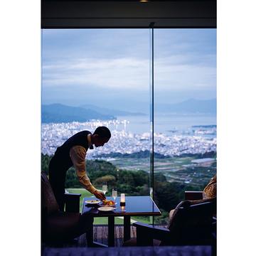 4.地素材フレンチを楽しむ 富士見の「風景美術館」