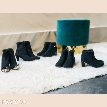 【プチプラショートブーツ】絶対使えるスウェード調の黒も5900円以下で…!6選♡