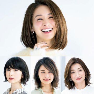 【50代の最新ボブヘア】人気モデル稲沢朋子さんの「イナトモボブ」徹底解説&いいとこどり最新ボブヘア集