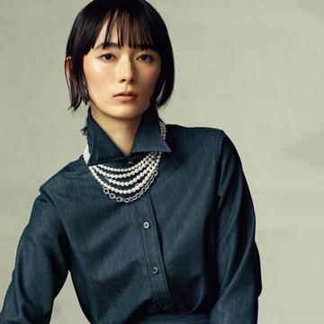 【大人のネックレス、復活!】ユニセックスデザインが新しいミキモトのパールネックレスを重ねづけ