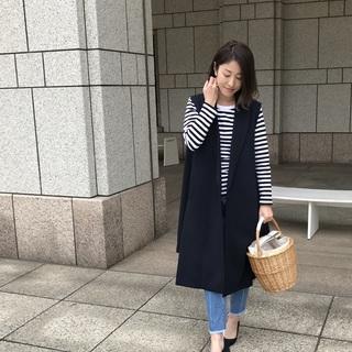 旬の「バケツ型バスケット」でアラフォー流マリンスタイルの完成!