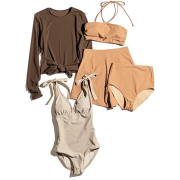 【大人の水着&水際スタイル】「カレンソロジー」のアイテムで大人の体のラインを心地よくカバー