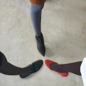 タイツ×ボトム×靴のベストバランス 五選