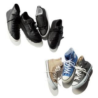 鉄板の白以外で選ぶ!大人スニーカーの正解コーデQ&Aまとめ